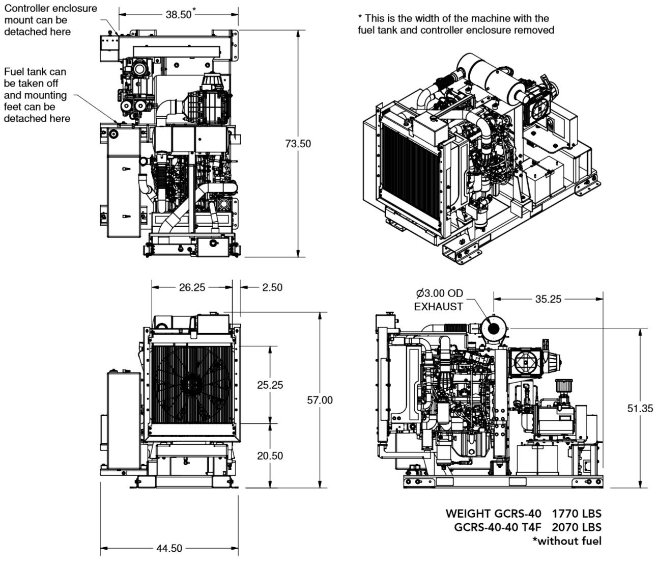 Generator Manuals and Literature 2